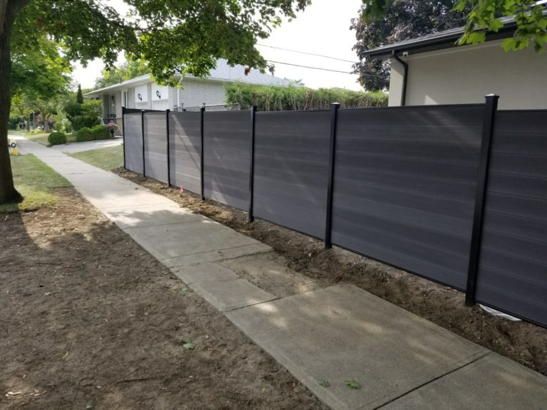 composite fence boards mississauga