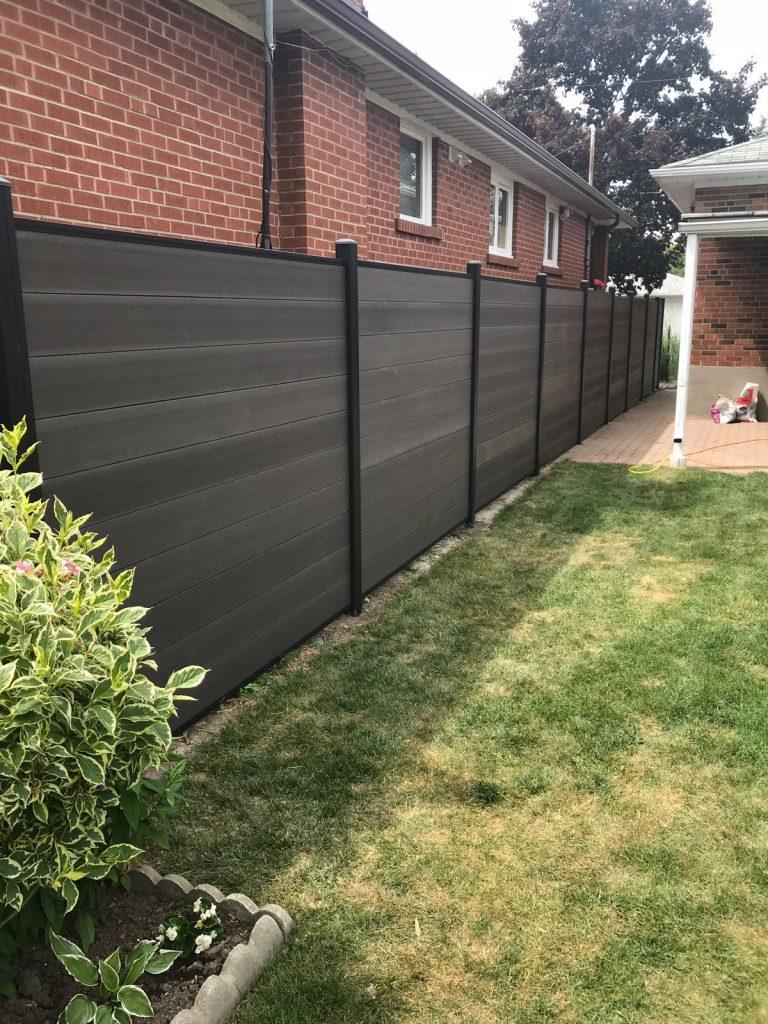 composite fence boards markham